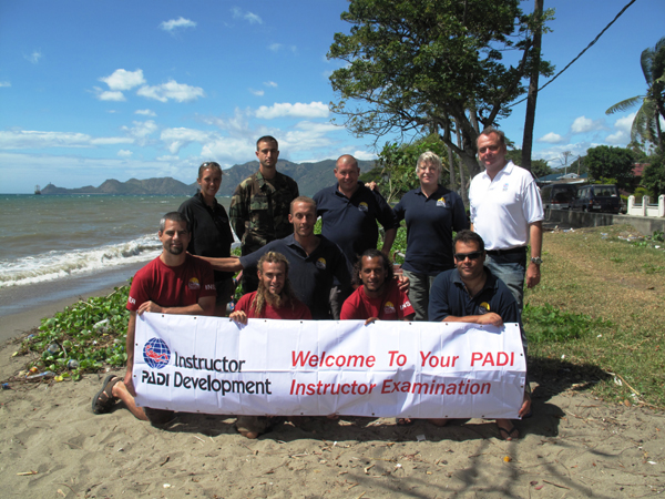 East Timor IDC | Scuba Diving Instructor