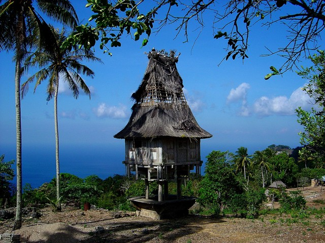Traditional Timorese House