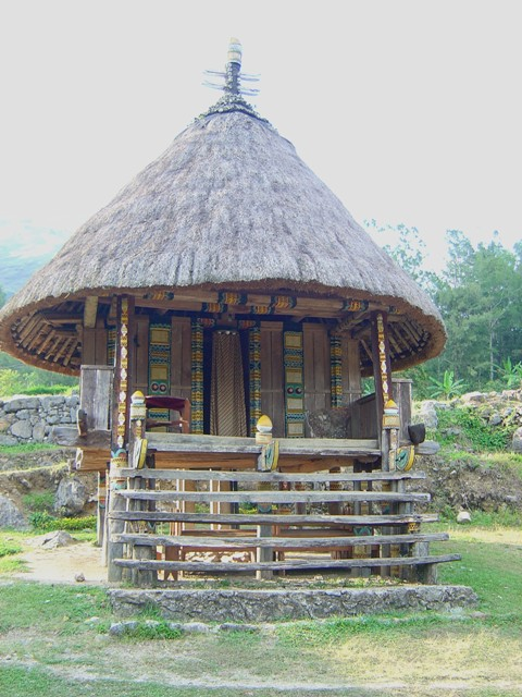 Priest House in Timor Leste