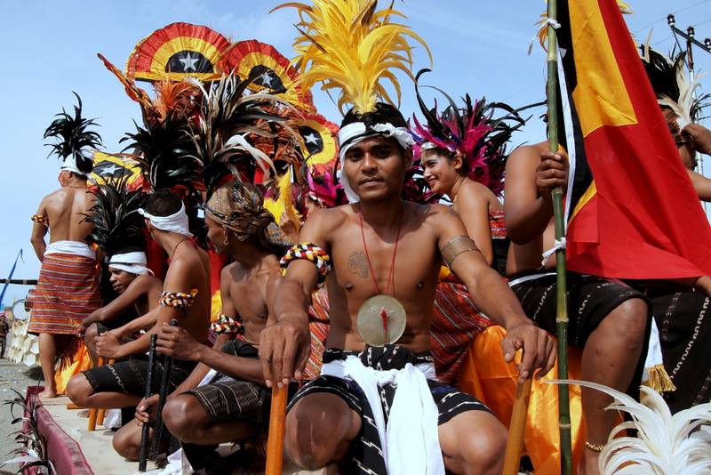 Independence Parade Timor Leste