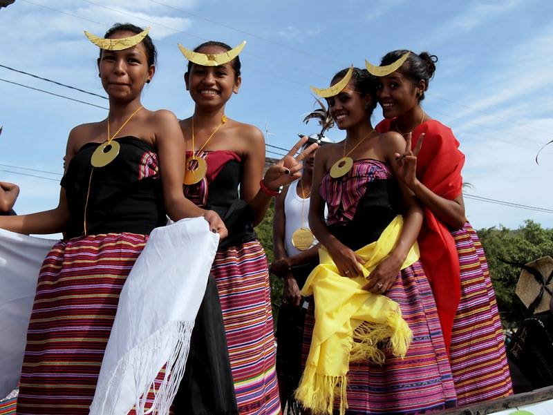 Timorese Traditional Dress