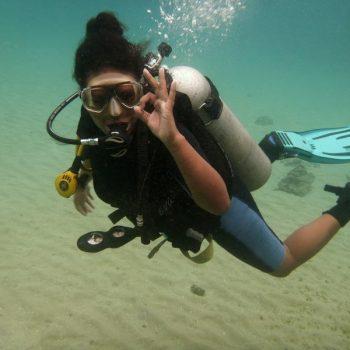 nafy timorese diver timor leste