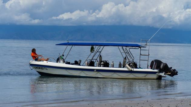 Boat Dive East Timor