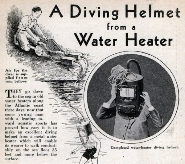 The History of Scuba Diving