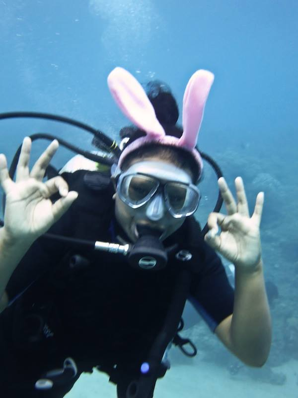 Nafy Diving Experience!