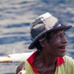 Local timorese fisherman