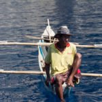 Local timorese fisherman on atauro